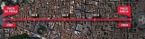 meridiana miglio di roma
